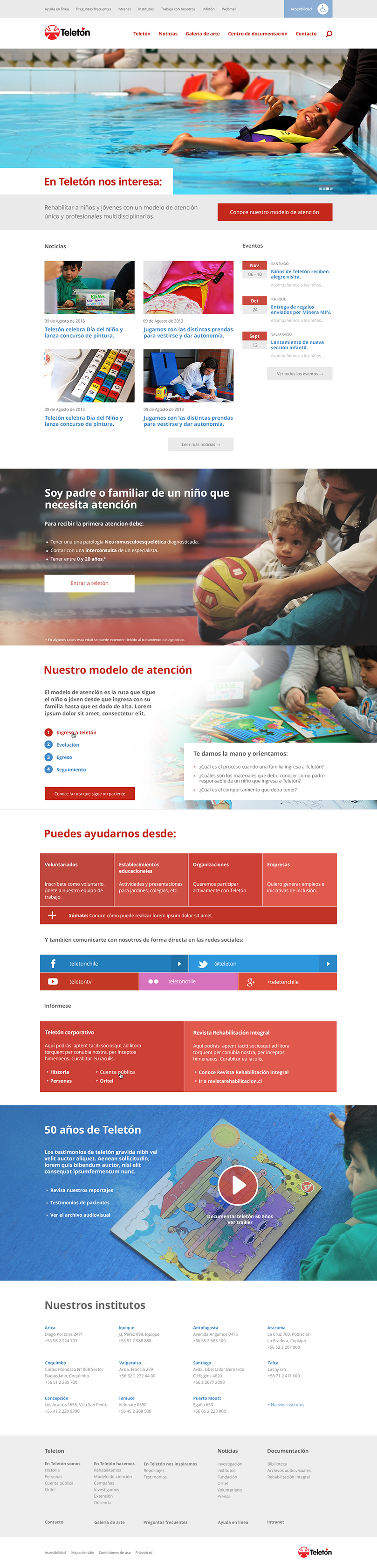 Teletón Chile UX Design